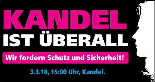 Frauendemo in Kandel